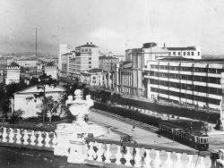 Свердловск. Вид с крыши оперного театра, приблизительно 1935 год