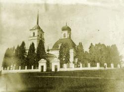 Уктусский Храм Преображения Господня, начало XX века